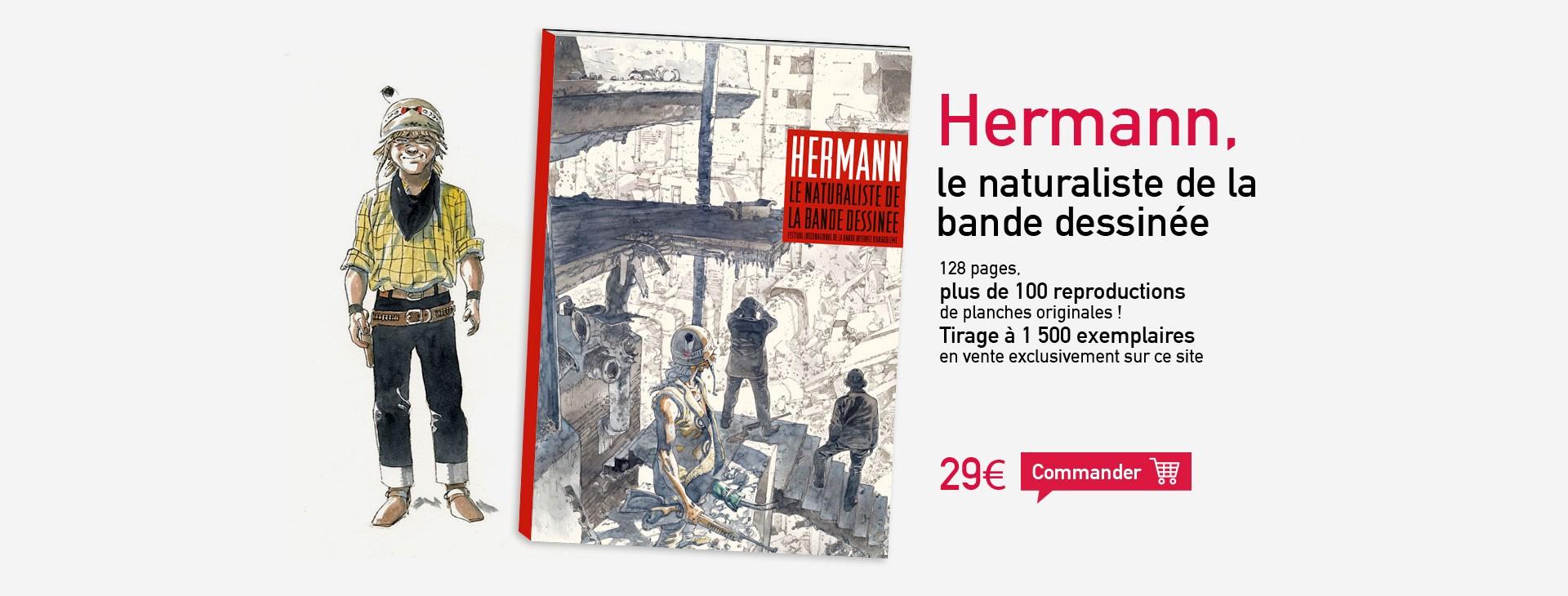 Hermann - Le naturaliste de la bande dessinée